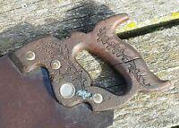 """E.C. ATKINS & Co."" Hand Saw (Carpenter Saw) 11TPI - 24"" Blade ~ (Disston Style)"