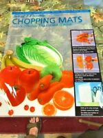 """FLEXIBLE CHOPPING MAT 2 PACK 12"""" X 15""""    NEW IN PACK"""