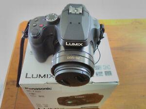 Panasonic Lumix Dc-fz82 4k Digital Bridge Camera 18.1mp 60x Zoom Black