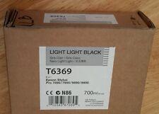 05-2015 NEW EPSON T6369 Light Light Black Ink 700ml Stylus 7890/7900/9890/9900