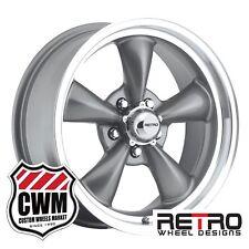 "17 inch 17x8"" Retro Gray Wheels Rims 5x4.75"" for Pontiac Cars 1982-1992"