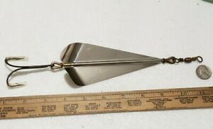 Antique Pflueger McMurray Arrowhead Spinner  4/0 Musky Lure Old Tackle Box Bait