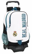 REAL MADRID Mochila grande con carro ruedas/Trolley/Big rucksack wheels