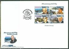 MALDIVES 2015 70th ANN OF D DAY DWIGHT EISENHOWER SHEET  FIRST DAY COVER