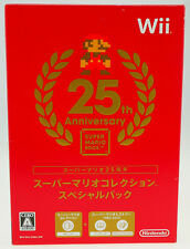 Super Mario Bros. 25th Anniversary Edition | Nintendo Wii | NEW SEALED JAPAN Ver