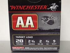 Winchester Aa Empty Shot Shell Box 28 gauge Very good + Condition