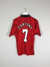 MANCHESTER UNITED 1996/1997/1998 HOME FOOTBALL SHIRT JERSEY #7 CANTONA