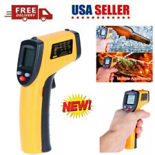 Digital Infrared Thermometer Handheld Non Contact Ir Laser Point Temperature Gun