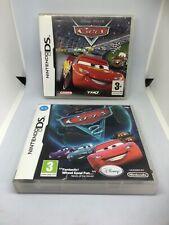 Cars & Cars 2 - Boxed - Nintendo DS Games VGC Job Lot
