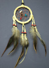 SMALL CREAM DREAM CATCHER FAIR TRADE GIFT DREAMCATCHER UK PARTY BAG LORRY CAR