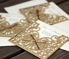Einladungskarte Hochzeit HE072 + Umschlag; Hochzeitseinladungen; Hochzeitskarten