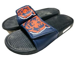 Unisex NFL CHICAGO BEARS Slides Pool Sandals Size Small 7-8