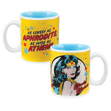 WONDER WOMAN 12oz Coffee MUG Cup Vandor Aphrodite Athena