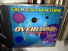 GIORGIO MARTINI OVERLOAD TRANCE PROGRESSIVE RARE CD SEALED CLAUDIO DIVA DJ DADO