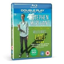 Stephen Merchant Hello Ladies Blu-ray and DVD FREE MP3 Download  New Unopened