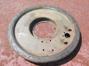 CCKW G-508 GMC Rear Brake Shoe Backing Plate Used