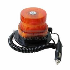 12V & 24V 40 SMD LED Revolving / Strobe Light - on / off switch on cig. plug
