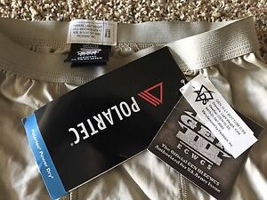 New w/ Tags! Special Forces PolarTec PCU LVL 1 Thermal Pants (Small)
