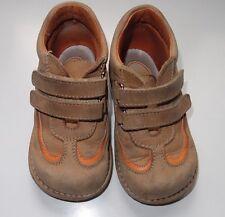 Zapatos de piel para niño color camel, número 24, Marca Perritos