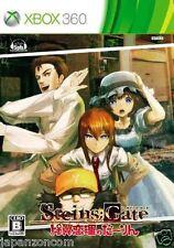 Used Xbox 360 Steins Gate: Hiyoku MICROSOFT JAPAN JP JAPANESE JAPONAIS IMPORT