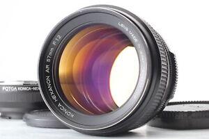 [MINT + NEX Adapter] KONICA HEXANON AR 57mm f/1.2 Lens ar Mount Sony From JAPAN