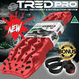TRED PRO - RECOVERY TREDPROR 1160MM NEW - RED 4X4 4WD MUDTRAX TREDS - PRO SERIES