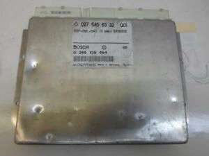 ABS CONTROL MODULE MERCEDES BENZ CL-CLASS CL500 2000 0275456332 OEM