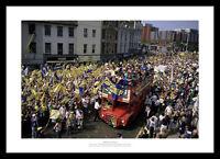 Wimbledon FC 1988 FA Cup Final Team Open Top Bus Photo Memorabilia (587)
