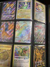 Pokemon Card Lot 10 Holo Reverse Guarantee Gx/V/Ex Full Art Rainbow Rare