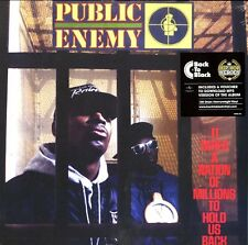 PUBLIC ENEMY IT TAKES A NATION OF MILLIONS TO HOLD VINILE LP 180 GRAMMI NUOVO