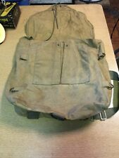 VINTAGE Canvas Military Backpack