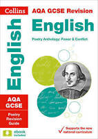 AQA GCSE 9-1 Poetry Anthology: Power and Conflict Revision Guide by Collins GCSE