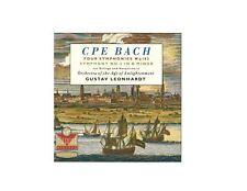 C. P. E. Bach: Four Symphonies Wq. 183 Symphony No. 5 in B Minor - MUSIC CD F476