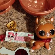 LOL SURPRISE PETS Series 4 EYE SPY, The Pony, Gold New Not Open