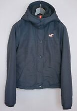 Women Hollister Jacket Casual Hiking Camping Waterproof L UK14 ZGA999