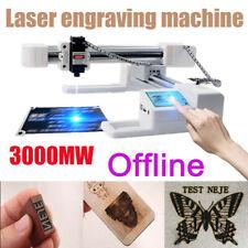 3W Offline Laser Engraver Kit Engraving Carving Machine CNC Mark Wood Printer