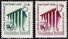 Deutsches Reich 692/93 ** Reichsgartenschau, Stuttgart 1939, kpl. postfrisch