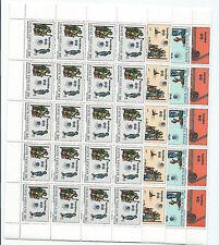 FRANCOBOLLI 1981 VATICANO CONGRESSO EUCARISTICO SERIE FOGLI INTEGRI MNH D/4440