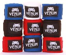 Venum MMA Hand Wraps Cotton Boxing Bandages Wrist Muay Thai 2.5m 4m All Colours