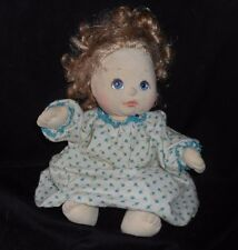 VINTAGE 1985 MATTEL MY CHILD DOLL BLONDE HAIR BABY GIRL STUFFED ANIMAL PLUSH TOY