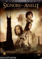 1 BOX 2 DVD FANTASY MOVIE LORD OF THE RINGS IL SIGNORE DEGLI ANELLI,LE DUE TORRI