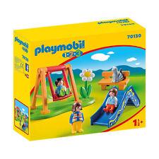 Playmobil 1-2-3 Children's Playground Building Set 70130 NEW IN STOCK