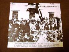 Fascismo in Italia Gorizia negli anni '30 Raduno guerra 15-18 Giovanni Giuriati
