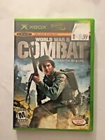 World War II Combat: Road to Berlin (Microsoft Xbox, 2006) Complete & Tested