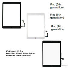 NEW iPad 5th 6th 7th Gen Front Glass Digitiser Touch Screen A1822 A1893 A2197