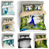 3D Peacock Bedding Set Duvet Cover Pillowcase Peafowl Quilt/Comforter Cover Set