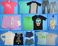 15 Piece Lot of Nice Clean Girls Size 8 Spring Summer Everyday Clothes ss42