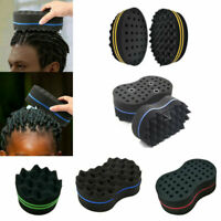 Hair Sponge Brush Twist Curl Barber Pro For Afro Dreads Coil Waves Curls Tools