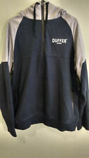 Mens Duffer Of St. George Hooded Jumper Size 2XL VGC