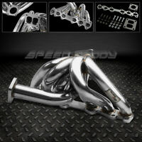 STAINLESS T4 TURBO/TURBOCHARGER MANIFOLD EXHAUST 86-92 TOYOTA SUPRA 1JZ-GE/-GTE